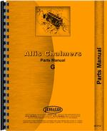 Parts Manual for Allis Chalmers G Tractor