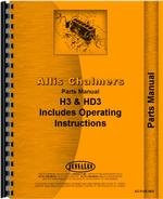 Parts Manual for Allis Chalmers H3 Crawler