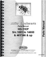 Parts Manual for Allis Chalmers HD11EP Crawler