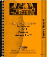 Service Manual for Allis Chalmers HD11S Crawler