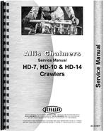Service Manual for Allis Chalmers HD14 Crawler