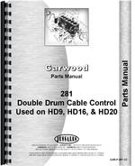 Parts Manual for Allis Chalmers HD15 Crawler Garwood 281 Cable Control
