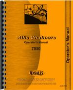 Operators Manual for Allis Chalmers 7050 Tractor