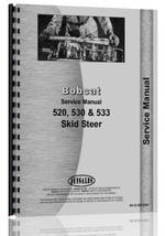 Service Manual for Bobcat 533 Skid Steer Loader