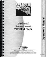Operators Manual for Bobcat 722 Skid Steer Loader