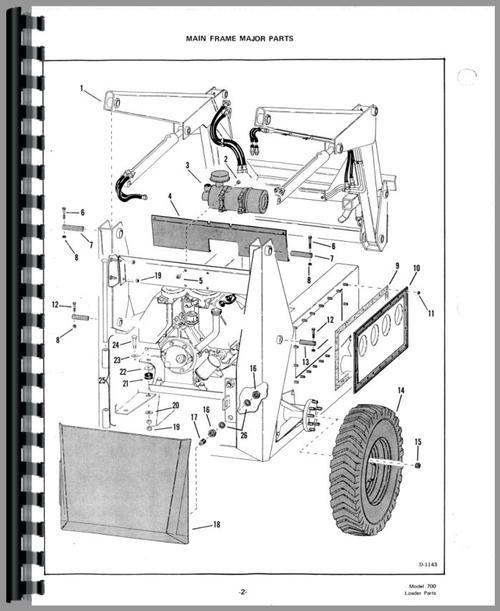 Bobcat 722 Skid Steer Loader Operators Owners Manual