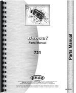 Parts Manual for Bobcat 731 Skid Steer Loader