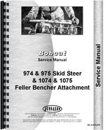 Service Manual for Bobcat 974 Skid Steer Loader