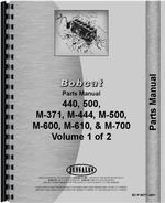 Parts Manual for Bobcat M-371 Skid Steer Loader