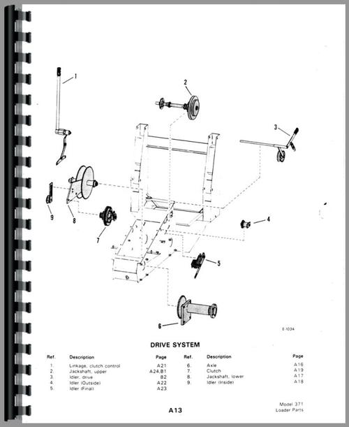 Bobcat M 610 Skid Steer Loader Parts Manual