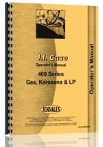 Operators Manual for Case 411 Tractor