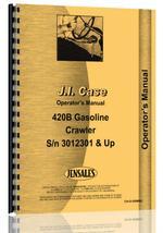 Operators Manual for Case 420C Crawler
