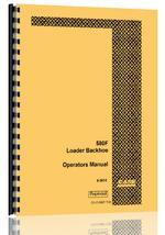 Operators Manual for Case 580F Tractor Loader Backhoe
