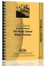 Operators Manual for Case 703 Tractor
