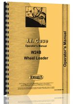 Operators Manual for Case W24B Wheel Loader