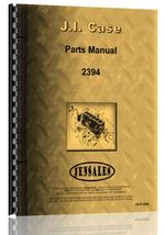 Parts Manual for Case 2394 Tractor