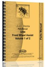Parts Manual for Case 3294 Tractor