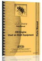 Parts Manual for Case 336 BD Engine