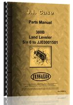 Parts Manual for Case 380B Industrial Tractor