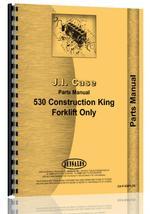 Parts Manual for Case 530 Forklift
