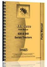 Parts Manual for Case 830 Tractor