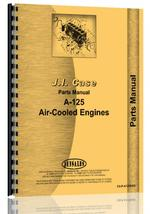 Parts Manual for Case A-125 Engine