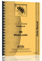Parts Manual for Case W9 Wheel Loader