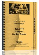 Service Manual for Case Colt 2110 Lawn & Garden Tractor