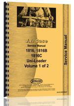 Service Manual for Case 1816 Uniloader