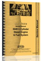 Service Manual for Case 504B Engine