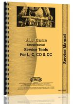 Service Manual for Case L Tools