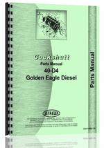 Parts Manual for Cockshutt 40-D4 Tractor