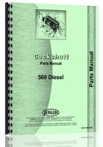 Parts Manual for Cockshutt 560 Tractor