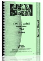 Service Manual for Continental Engines F186 Engine