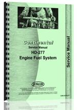 Service Manual for Continental Engines HD-277 Engine