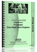 Service Manual for Napco all 6-cyl Gas Crab Engine