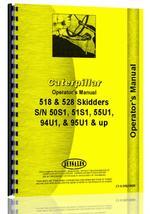 Operators Manual for Caterpillar 528 Skidder