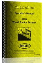 Operators Manual for Caterpillar 627B Tractor Scraper