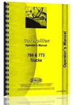 Operators Manual for Caterpillar 773 Truck