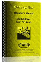 Operators Manual for Caterpillar 7S Bulldozer Attachment