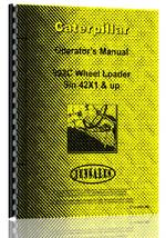 Operators Manual for Caterpillar 992C Wheel Loader