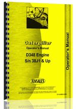 Operators Manual for Caterpillar D348 Engine