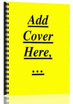 Operators Manual for Caterpillar D379 Engine