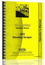 Operators Manual for Caterpillar J619 Scraper