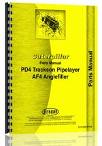 Operators Manual for Caterpillar AF4 Pipelayer
