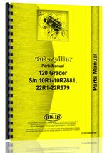 Parts Manual for Caterpillar 120 Grader