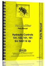Parts Manual for Caterpillar 141 Hydraulic Control Attachment
