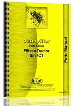 Parts Manual for Caterpillar 15 Crawler