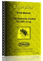 Parts Manual for Caterpillar 173B Hydraulic Control Attachment