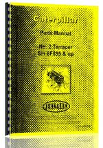 Parts Manual for Caterpillar 2 Terracer